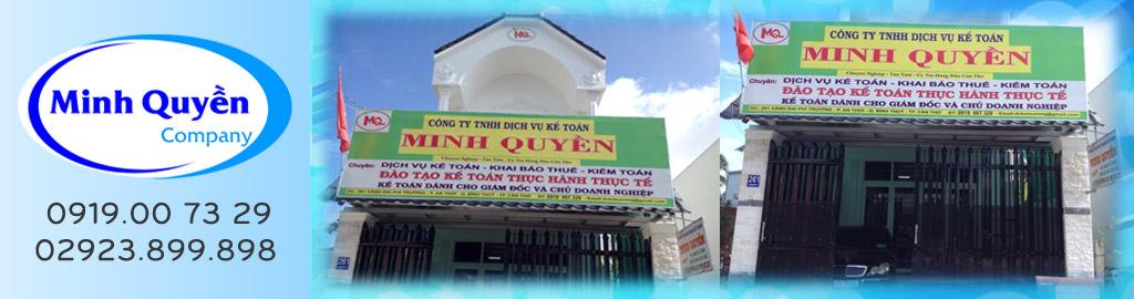 Công Ty TNHH Kế Toán Minh Quyền